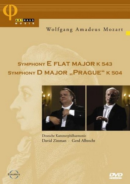 Mozart: Symphony In E Flat Major K543 / Symphony In D Major Prague K504 (DVD)