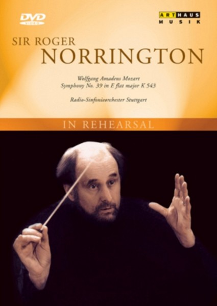 Sir Roger Norrington-Rehearsal (DVD)
