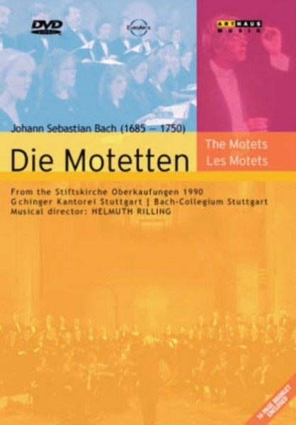 Bach: The Motets (DVD)