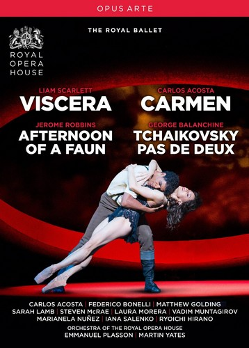 Viscera/Carmen [Emmanuel Plasson; Martin Yates] [Opus Arte: Dvd] (DVD)