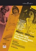 Mozart - Da Ponte - Cosi Fan Tutte / Le Nozze Di Figaro / Don Giovanni (DVD)