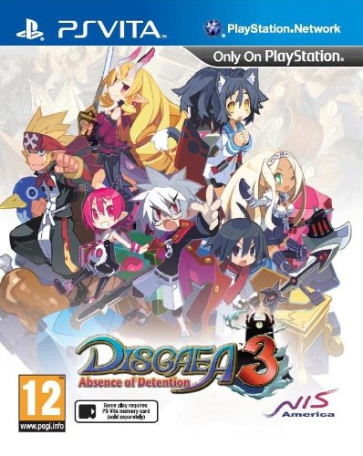 Disgaea 3: Absence of Detention (PlayStation Vita)