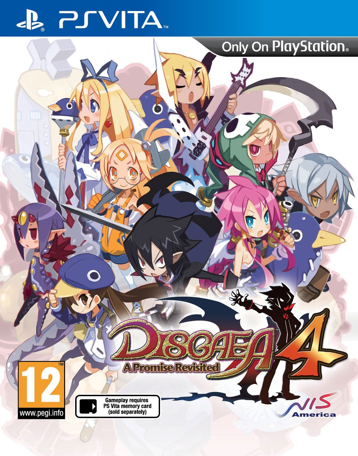 Disgaea 4: A Promise Revisited (PS Vita)