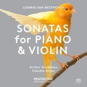 Ludwig van Beethoven: Sonatas for Piano & Violin (Music CD)