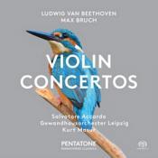 Ludwig van Beethoven  Max Bruch: Violin Concertos (Music CD)