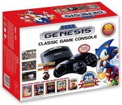 Genesis Sonic the Hedgehog Classic Retro Games Console - 25th Sonic Anniversary Edition - Plug and Play