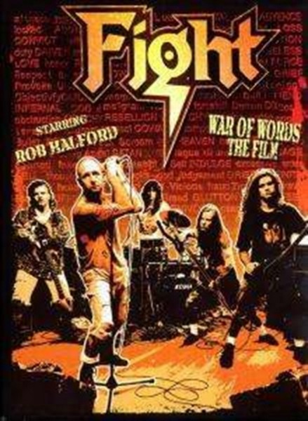 War Of Words - The Film (Ltd Edition Numbered Box) (Rob Halford) (DVD)