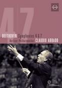 Beethoven - Symphonies Four And Seven - Claudio Abbado / Berlin Philharmoniker (DVD)