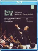 Brahms / Dvorak - Violin Concerto / Symphony No.9 (Blu-Ray)
