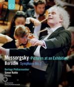 Mussorgsky / Borodin - Rattle Conducts (Blu-Ray)