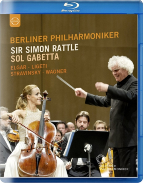 Sir Simon Rattle and Sol Gabetta (Blu ray) [Blu-ray] [2016] (Blu-ray)