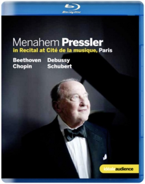 Menahem Pressler In Recital (Blu-Ray)