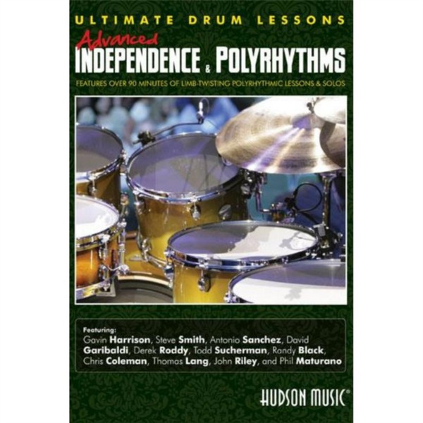 Various Artists - Ultimate Drum Lessons: Advanced Independence And Polyrhythms (DVD)