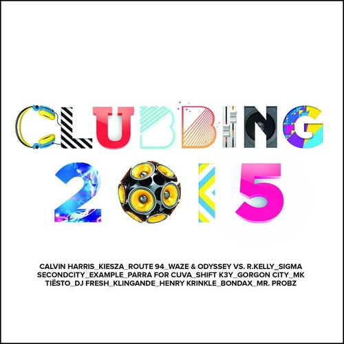 Various Artists - Clubbing 2015: The Fresh Mix (Music CD)