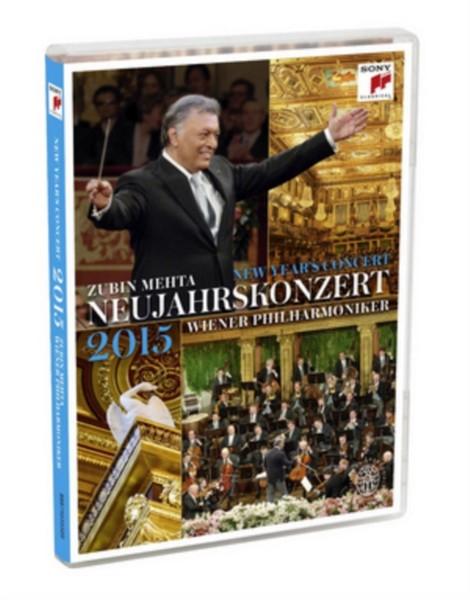 New Year'S Concert: 2015 - Vienna Philharmonic (Mehta) (DVD)