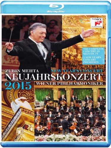 New Year's Concert: 2015 - Vienna Philharmonic (Mehta) [Blu-ray] (Blu-ray)