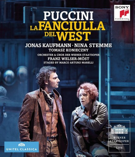 La Fanciulla Del West [Blu-ray] [2015] (Blu-ray)