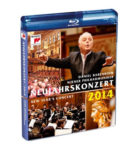 New Year's Concert: 2014 - Vienna Philharmonic (Barenboim) [Blu-ray] (Blu-ray)