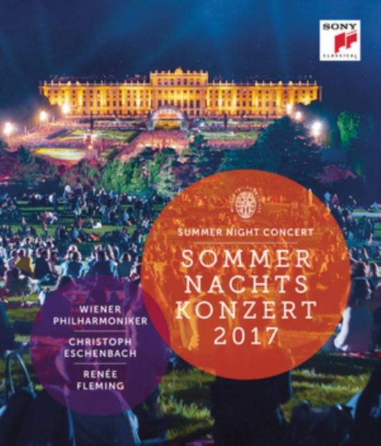 Sommernachtskonzert 2017: Wiener Philharmoniker (Eschenbach)  (Blu-ray
