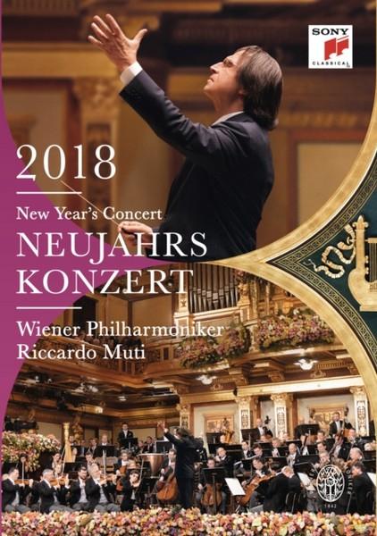 Neujahrskonzert 2018 / New Year's Concert 2018 [DVD]