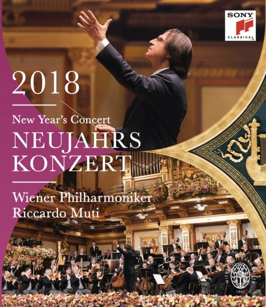 Neujahrskonzert 2018 / New Year's Concert 2018 [DVD] (Blu-ray)