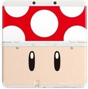 Nintendo Official Cover Plate for New 3DS - Red Toad (3DS)