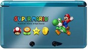Nintendo 3DS Super Mario Protector and Skin Set (Hori) (3DS)