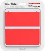 Nintendo Official Cover Plate for New 3DS - Red (3DS)