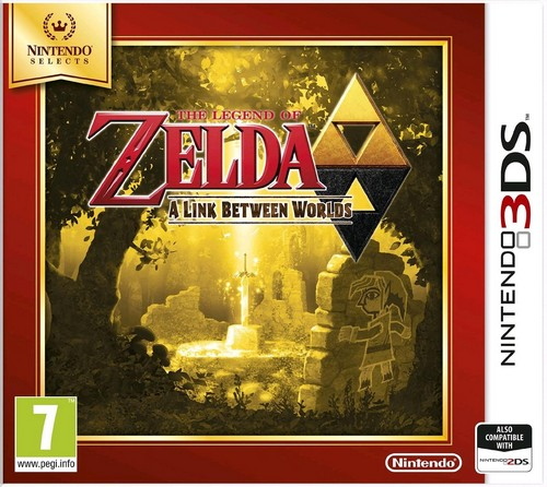 Legend of Zelda: A Link Between Worlds (Selects) (3DS)