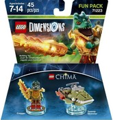 Lego Dimensions: Fun Pack - Chima - Cragger (Video Game Toy)
