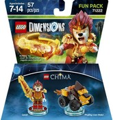 Lego Dimensions: Fun Pack - Chima - Laval (Video Game Toy)
