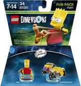 Lego Dimensions: Fun Pack - The Simpsons - Bart (Video Game Toy)