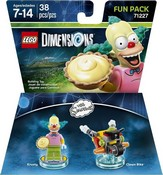 Lego Dimensions: Fun Pack - The Simpsons - Krusty (Video Game Toy)