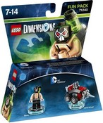 Lego Dimensions: Fun Pack - Bane (DC Comics) (Video Game Toy)