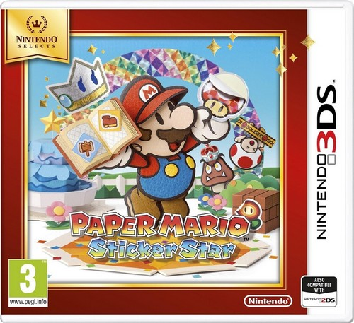 Paper Mario: Sticker Star (Selects) (3DS)