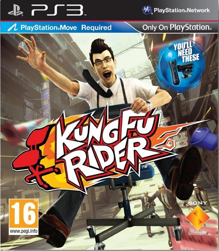 Kung Fu Rider Move (PS3)