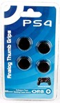 PS4 Controller Thumb Grips 4-Pack (ORB) (PS4)