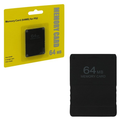Memorycard 64mb black (Assecure)  (PS2)