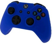 Pro Soft Silicone Protective Cover with Ribbed Handle Grip [Blue] (Xbox One)
