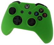 Pro Soft Silicone Protective Cover with Ribbed Handle Grip [Green] (Xbox One)