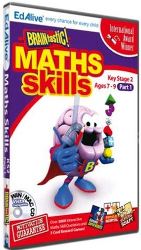 BRAINtastic! Maths KS2 Part 1 (PC)