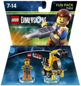 Lego Dimensions: Fun Pack - Lego Movie Emmet (Video Game Toy)