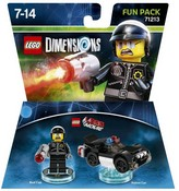 Lego Dimensions: Fun Pack - Lego Movie Bad Cop (Video Game Toy)