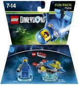 Lego Dimensions: Fun Pack - Lego Movie Benny (Video Game Toy)