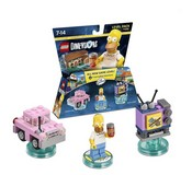 Lego Dimensions: Level Pack - The Simpsons (Video Game Toy)
