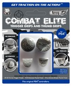 Trigger Treadz Combat Elite: 2 Trigger Treadz plus 1 Hi/ 1 Low Thumb Treads (Urban Camo) (PS4)