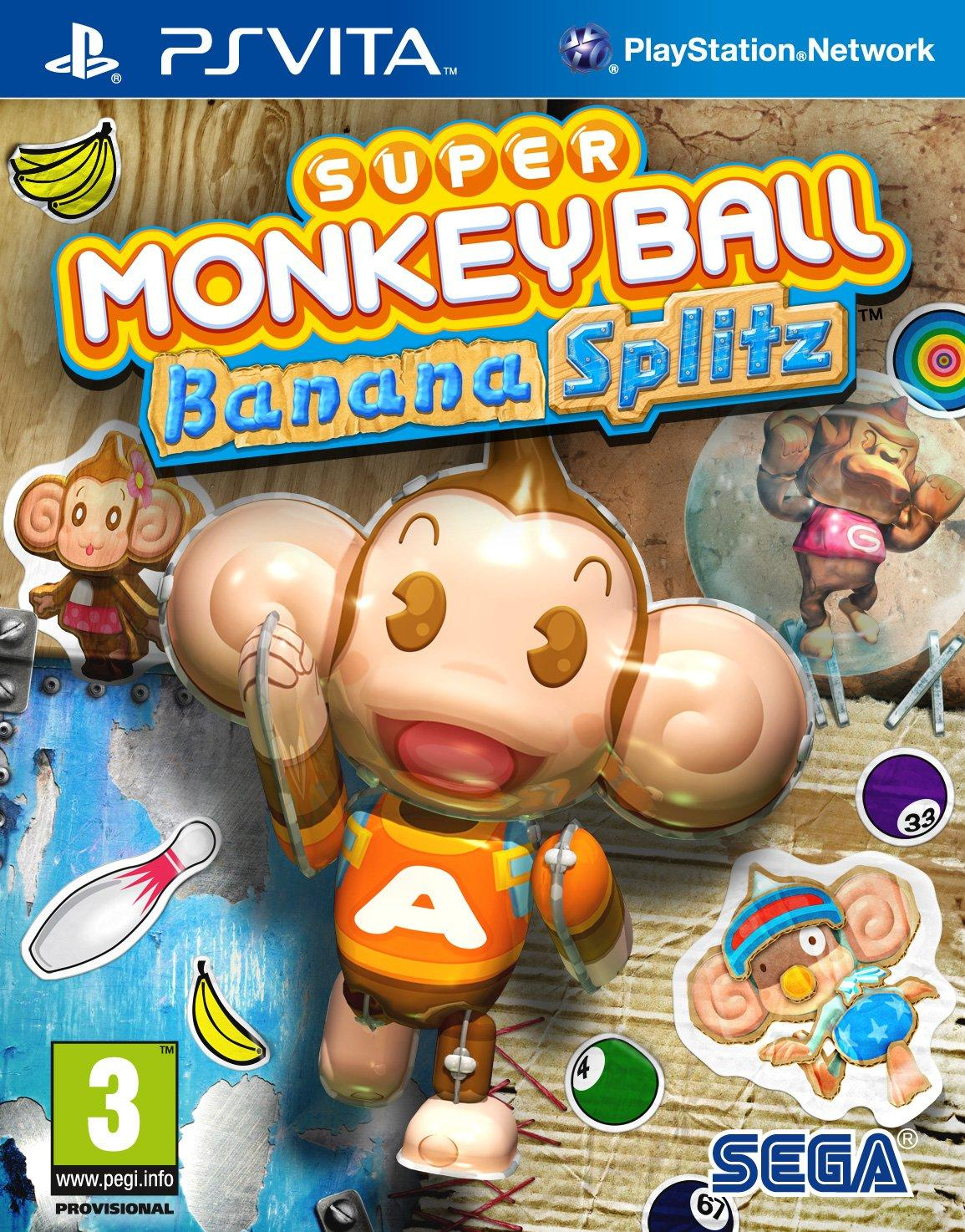 Super Monkey Ball: Banana Splitz (Vita)