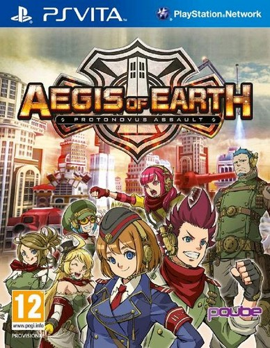 Aegis of Earth: Protonovus Assault (Vita)
