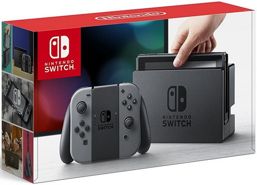 Nintendo Switch Console with Grey Joy-Con (EU) /Switch