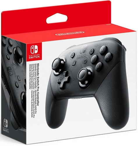 Nintendo Switch Pro Controller **  BLACK  ** /Switch